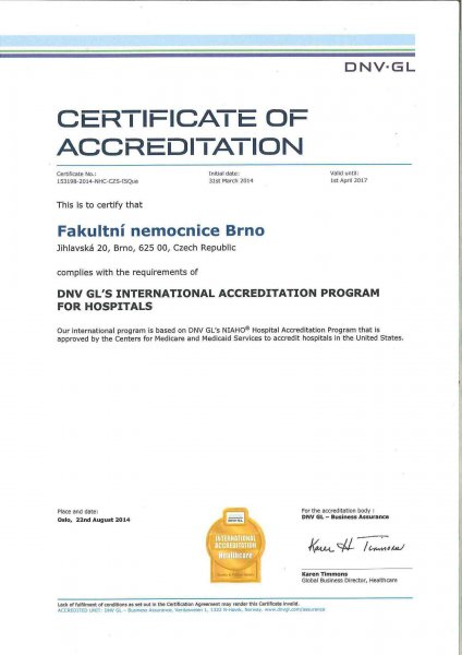 DNV-GL_international_healthcare Accreditation certification