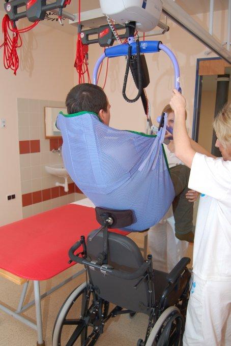 Spinální jednotka - pacient